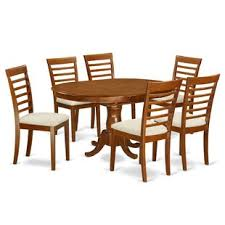 portland 7 piece dining set by east west furniture 839 99 920 00 8
