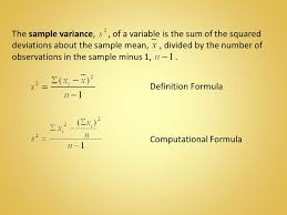Nice Sample Variance Pictures >> Sample Variance 11 Png. What Are ...