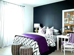 Dark Gray Accent Wall Grey Purple Living Ideas Bedroom Light Walls With