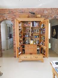 Amish Kitchen Furniture Solid Wood Kitchen Pantry Cabinet