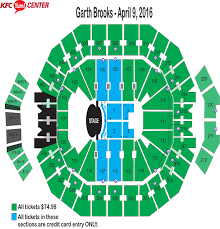 Kfc Yum Center Seating Chart With Rows Kfc Yum Center Ticket Office Alligator Farm Zip Line Discount