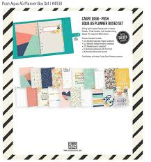 best carpe diem posh planners accessories images on  carpe diem posh aqua box set