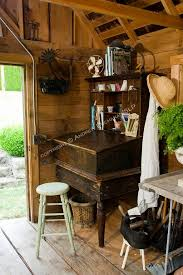 vintage shabby chic inspired office. Shabby Chic Office Furniture New Old In A Shed I Need Antique  Desk Like This Vintage Shabby Chic Inspired Office T