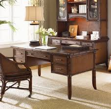 sligh furniture office room. Description: Leather Top Framed By A Rosewood Veneer Rim And Rattan Trim. Woven Drawer Fronts, Front, Back End Panels. Shelves Sligh Furniture Office Room