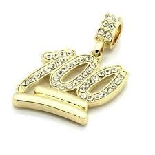 custom hip hop pendant customized jewelry gold pendants necklaces hp los angeles