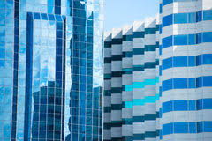 Perfect City Window Texture Futuristic Office Buildings For Decor