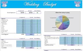 Start-Up Budget Templates - Blue Layouts