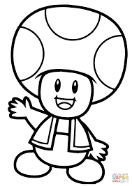 Coloring Pages Bit Super Mario Bros Coloring Pages Free Online To