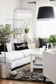 Black And White Living Room Decor Fascinating Black And White Living Room  Ideas 41
