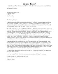 Law Student Cover Letter Samples District Attorney Cover Letter