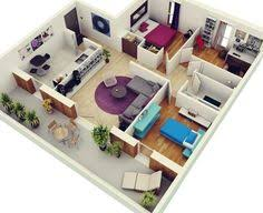 50 four 4 bedroom apartment house plans bedrooms 3d interior