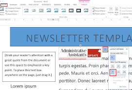 Staff attendance sheet february 24th 2021   sample excel staff attendance sheet. How To Easily Create A Newsletter Template In Microsoft Word