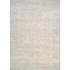 everest persian arabesque bone 9 ft x 12 ft area rug