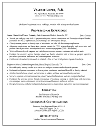 free many professional experience and registered nurse resume free