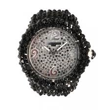 black swarovski crystal watch swarovksi crystal watch w a t unisex black swarovski crystal watch