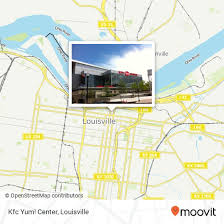 How To Get To Kfc Yum Center In Jefferson By Bus Moovit
