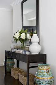 How To Decorate A Foyer Console Table Trgn bedd98bf2521