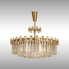 woka lamps vienna original 60056 mid century modern crystal chandelier design oswald haerdtl