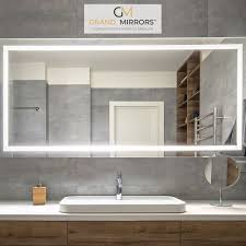 Mirrors With Lights Around Them Integrated Light Mirrors In 2019 Integrated Light Mirrors