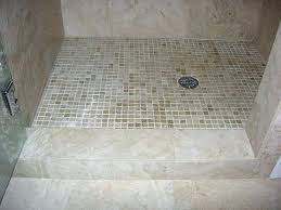 how to build a tile shower pan building a tile shower pan new ideas tile shower