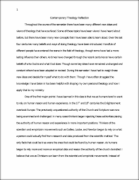 theology study resources 9 pages contemporary theology reflection paper