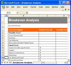 Break Even Excel Template Beauteous Real Estate Break Even Analysis Spreadsheet On Inventory Spreadsheet