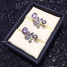 love pearl ring mountings ring findings adjustable ring jewelry setting parts fittings charm accessories