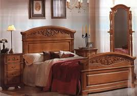 wooden furniture bed design. Classic Bedroom Decoration With Wood Furniture Ideas Wooden Bed Design S