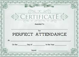 Download Award Certificate Templates 28 Attendance Certificate Templates Docs Pdf Psd Free