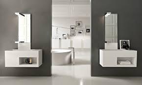 Bathroom Decor Stores Spectacular Floating Small Bathroom Vanities Placed In Dark Brown