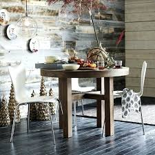refurbished wood dining table recycled uk round