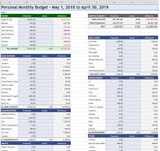 Google Spreadsheets Budget Template How To Make An Annual Budget With Google Sheets Learning