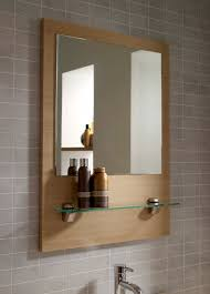 wooden bathroom mirrors. Bathroom: Bathroom Mirror With Shelf Attached Decorations Ideas Inspiring Contemporary At Design A Room Wooden Mirrors O