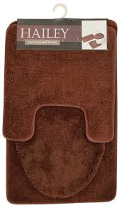 Tan Bathroom Rugs Hailey 3 Piece Bathroom Rug Set Bath Mat Contour Rug Toilet