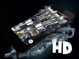 3D Mesin Wallpaper Hidup for Android ...