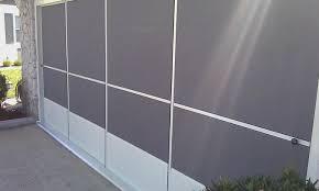 garage screen door slidersSliding Garage Screen Door  4track Screen  Largo FL