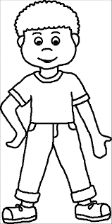 Coloring Pages Boy Coloring Page Wecoloringpage