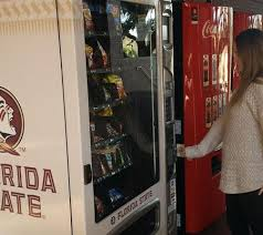 Fundraising Vending Machines Delectable Vending Company Introduces New FSUbranded Snack Machines To Campus