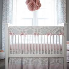 awesome girl ba crib bedding pink and gray rosa 3 piece crib pertaining to amazing house pink and grey crib bedding set ideas