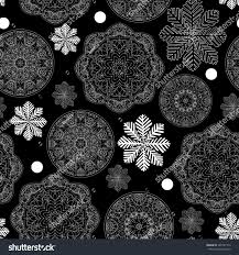 Printable Design Paper Rustic Winter Seamless Pattern Scrapbook Paper Backgrounds