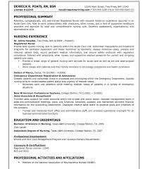Sample Nursing Student Resume Adorable Sample Nursing Student Resume Michael Resume