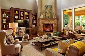 living room with corner fireplace. decorating around a corner fireplace - garrison hulliger interior design via houzz living room with