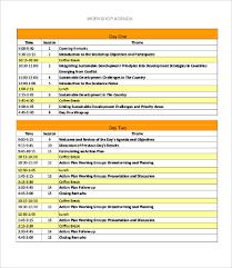 Workshop Agenda Template Microsoft Word Workshop Agenda Template 10