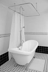shower surround for clawfoot tub. clawfoot tub shower | slipper includes enclosure, faucet, drain surround for