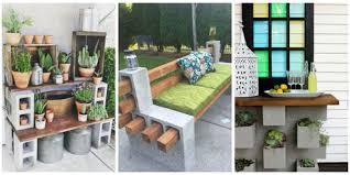 cinder block furniture. Interesting Furniture Image With Cinder Block Furniture