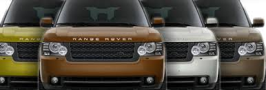 2012 Range Rover Exterior Color Swatches Roverguide