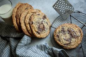 Giant Crinkled Chocolate Chip Cookies Recipe Nyt Cooking