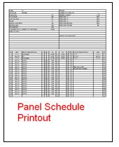 Panel Schedule Template Excel Printable Schedule Template
