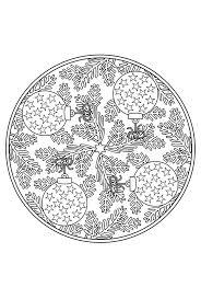 Kerstballen Mandala