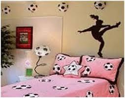 GIRLS SOCCER BEDROOM IDEAS   FOOTBALL DORM DECOR   BEDROOM .